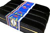 Резинки для одежды (30mm/7m) чёрные, эластичная тесьма, фото 1