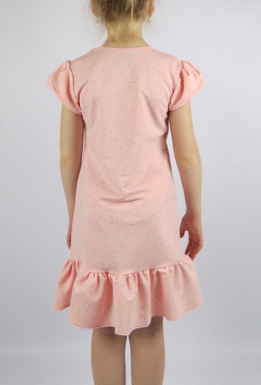 Платье сердце код 620 размеры от 122 см до 140 см (от 6 до 10 лет), фото 2
