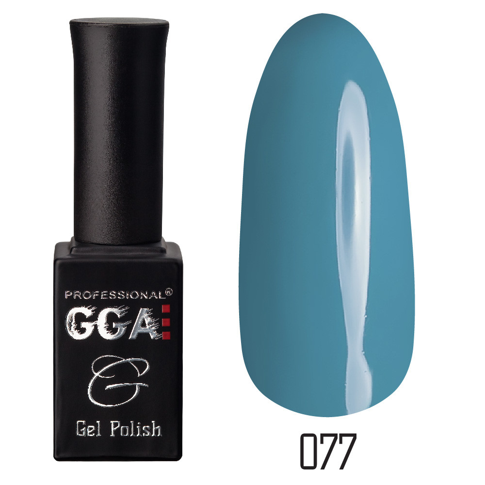 Гель-лак GGA Professional №77 (teal), 10ml