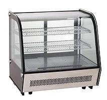 Витрина холодильная кондитерская настольная EWT INOX RTW-120L