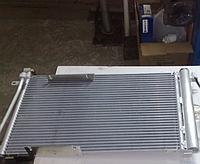 Радиатор кондиционера Август ВАЗ 2110, ВАЗ 2111, ВАЗ 2112, Богдан