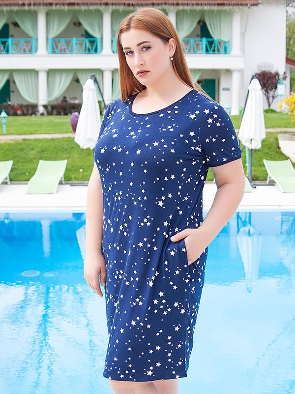 """Платье женское """"Зирка"""" большого размера (до 70 и более)"""