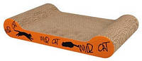Trixie TX-48000 драпак-лежак Wild Cat  для кота 41 × 7 × 24 см (картон)