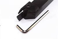 MGEHL1616-3 Резец отрезной, канавочный (державка токарная отрезная канавочная со сменной пластиной)