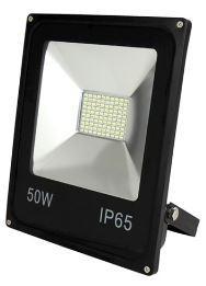 Прожектор світлодіодний LED-SLE-50Вт 220В 3500Лм 6500К ELITE SLIM