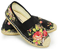Летние женские балетки, туфли текстильные на лето