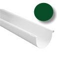 Желоб водосточной системы Марлей (Marley) СONTINENTAL 125 мм зеленый