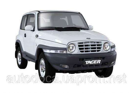 Защита картера двигателя, кпп, ркпп SsangYong Korando 1997-