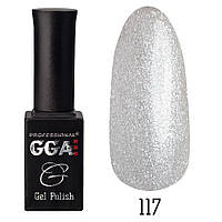 Гель-лак GGA Professional №117 (cream shimmer), 10ml