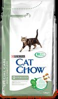 Cat Chow Special Care Sterilized для кастрированных кошек 15кг Purina