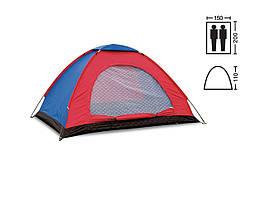 Туристическая палатка 2х местная. (2,0 х 1,50 х 1,10м). Суперцена!