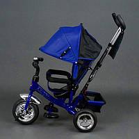 Детский трехколесный велосипед Best Trike 6588 EVA 2017 Синий