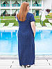"""Летнее платье в пол больших размеров """"Синди"""", фото 3"""