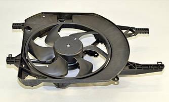 Вентилятор радиатора в диффузоре на Renault Trafic II 2001->2014 (+/-AC)  — Polcar (Польша) - O 602623W1