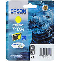 Epson T1034 Картридж Yellow (Желтый) повышенной емкости (C13T10344A10)