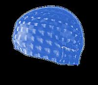 Шапочка для плавания лайкра Spokey Torpedo 3D 837548 (original) для бассейна, для длинных волос, полиуретан