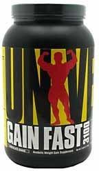 Гейнер Gain Fast 3100 (2,3 кг) Universal Nutrition