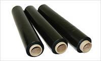 Стрейч-пленка черная 20 мкм 500 мм х 200 м