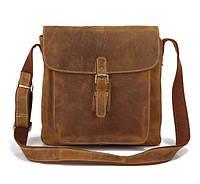 Винтажная Сумка через плечо, натуральная кожа красивый цвет, наплечный ремень TIDING BAG (7111B)