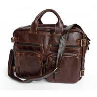 JASPER & MAINE Сумка-рюкзак в коричневом цвете, для мужчин (7026R)