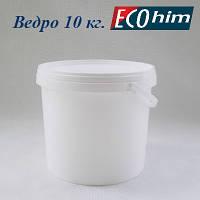 Высокопрочное полипропиленовое ведро 10 литров