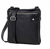 Вертикальная мужская сумка планшетка с наплечным ремнем через плечо Blamont (Bn019A)