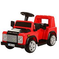 Детский электромобиль джип M 3163 BR-3, Land Rover, красный