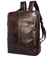 Лаконичный коричневый рюкзак  из кожи TIDING BAG (7280C)