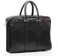 Blamont мужская сумка для ноутбука в классическом стиле черного цвета (Bn023A)