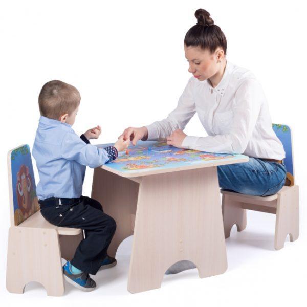 Столики и наборы для дошкольников