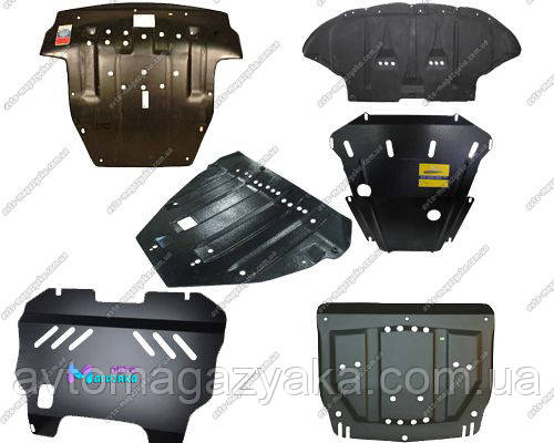 Защита двигателя Renault Master (ДВС+КПП) 2005-2010 (Щит)