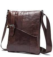 Bexhill (England) Мессенджер из качественной кожи в винтажном стиле с наплечным ремнем (BX9035C)
