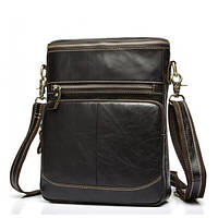 Bexhill (England) Мужская сумка через плечо ручной работы выполнена из натуральной кожи (BX8103C)