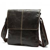 Bexhill (England) Мужская сумка через плечо в классическом стиле. Натуральная кожа от BEXHILL( BX8006B)