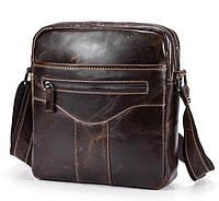 Молодежная мужская сумка через плечо в классическом стиле BEXHILL (BX1184C)