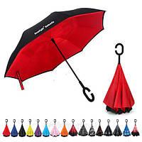 Ветрозащитный двойной зонт, зонтик от дождя umbrella, фото 1