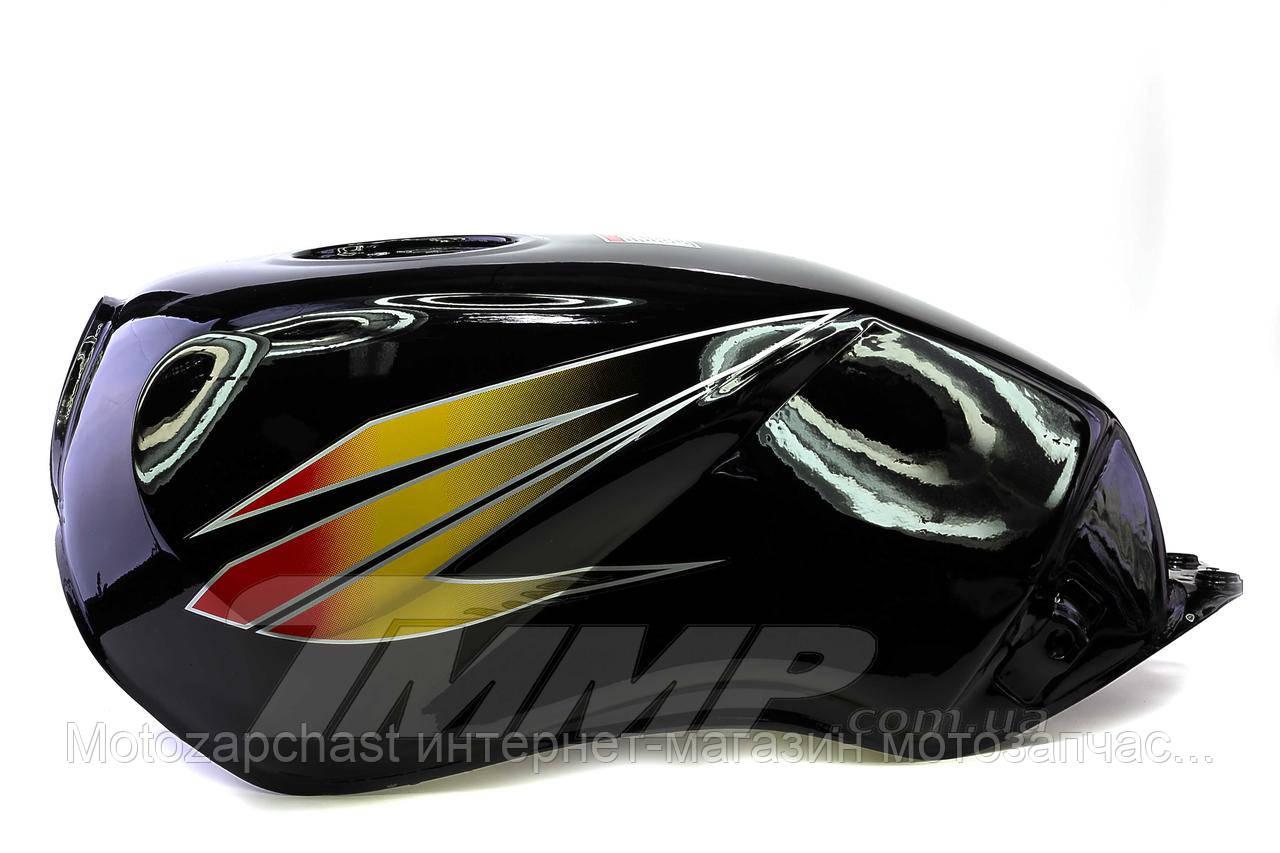 Бензобак Minsk-SONIK-125-150 черный - Motozapchast  интернет-магазин мотозапчастей в Харькове
