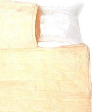 Пляжный коврик с подголовником 80х150 Велюр кремовый, фото 2