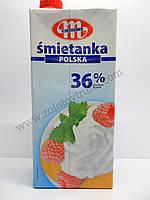 Сливки на основе животных жиров «Smietanka polska 36 %»