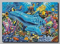 """Схема для вышивки бисером """"Коралловый риф"""""""