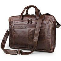 Вместительная дорожная сумка Jasper&Maine из натуральной высококачественной кожи (7320C)