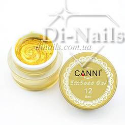 3D гель-паста CANNI №12