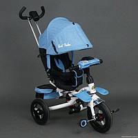 Трехколесный велосипед Best Trike 6595 поворотное сидение, голубой