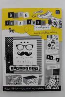 Набір для творчості, А4, з наліпками, відривні листи B&W