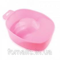 Ванночка для маникюра нежно-розовая