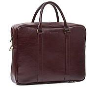 Сумка для документов с отделом для ноутбука в стильном коричневом цвете Blamont Bn022R
