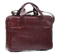 Деловая сумка для мужчин в стильном коричневом цвете (Bn068R)