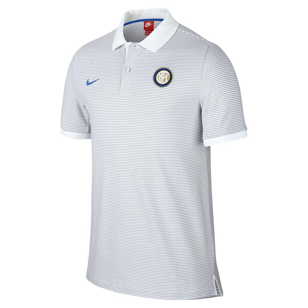 ef1b937cbe3e7a2 Футболка поло Интер Милан (Inter Milan), Nike, белая - Sport Active People