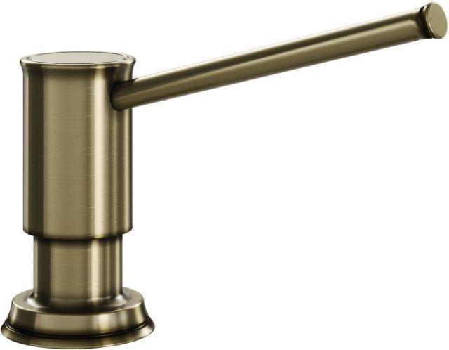 Дозатор жидкого моющего средства BLANCO LIVIA  латунь