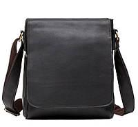 Мессенджер для мужчин из натуральной кожи с наплечным ремнем Tiding Bag (G1157A)